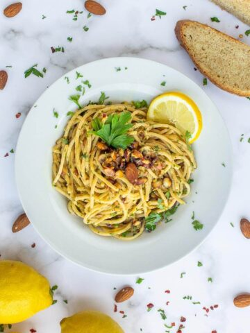 Lemony Spaghetti