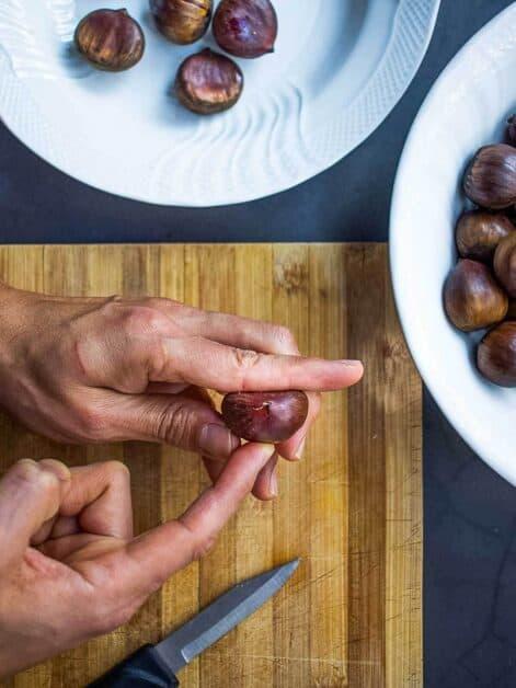 notching chestnuts