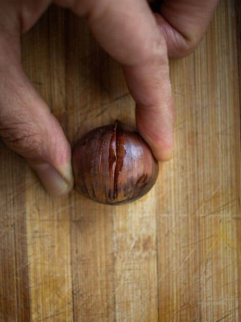 final chestnut cut