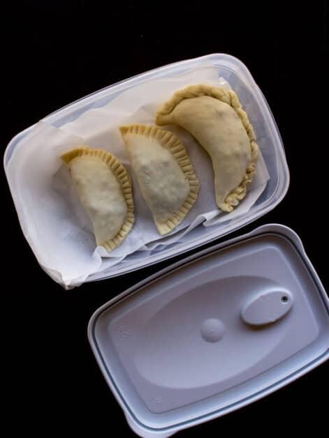 Ready to freeze Vegan Empanadas