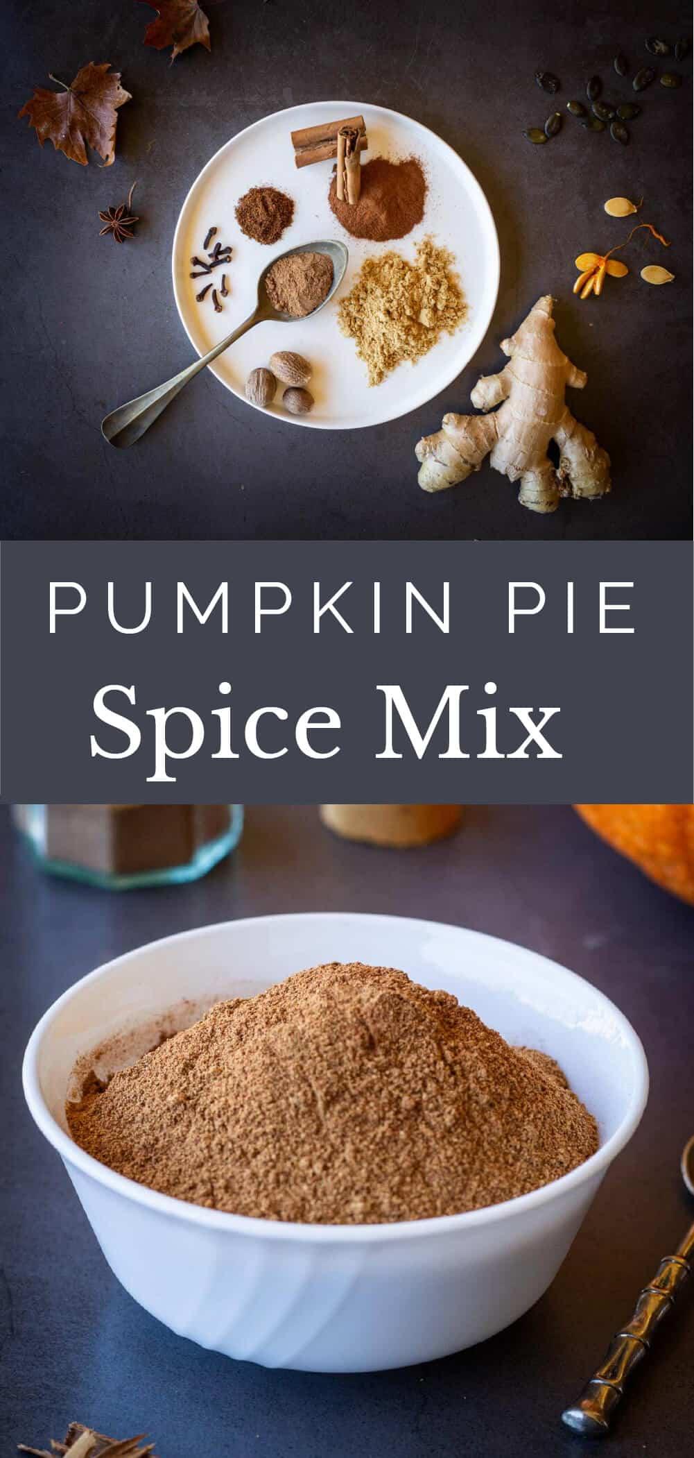 pumpkin pie spice recipe pinterest