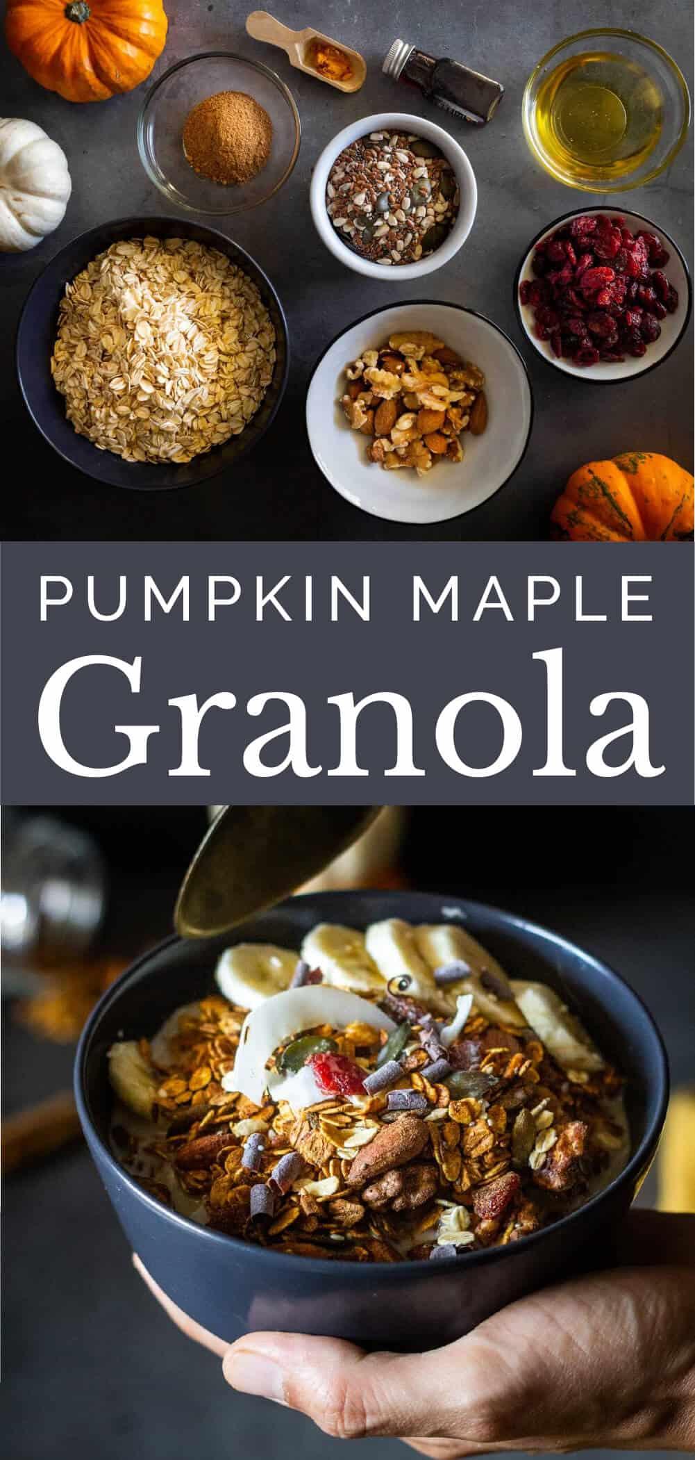 Pumpkin Maple Granola Recipe