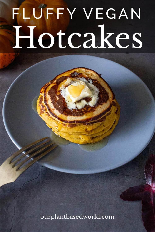 Healthy Vegan Pancakes for Pinterest