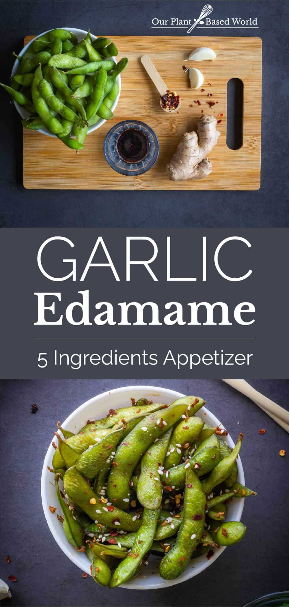 Garlic Edamame