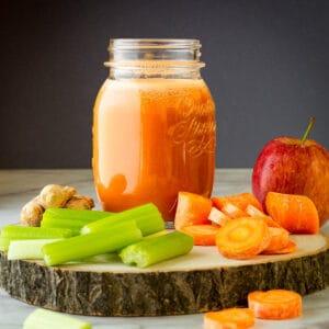Carrot Apple Celery Juice