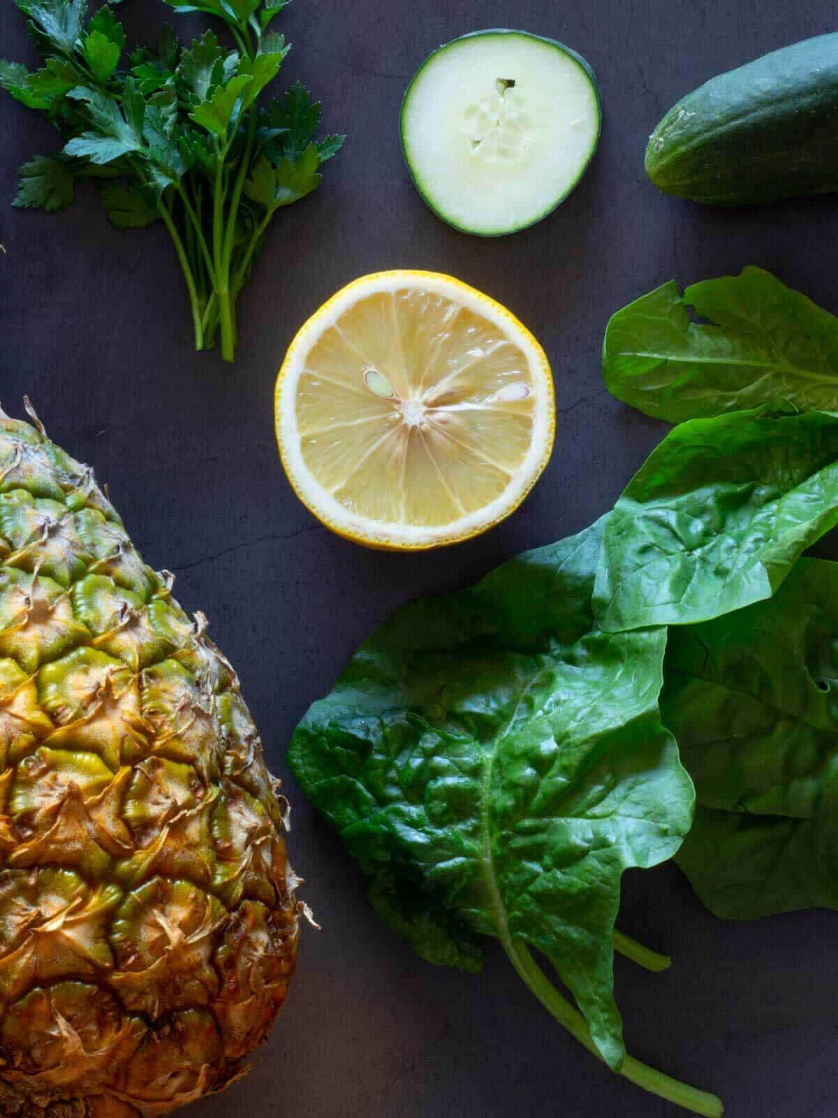 Weight Loss Juice ingredients