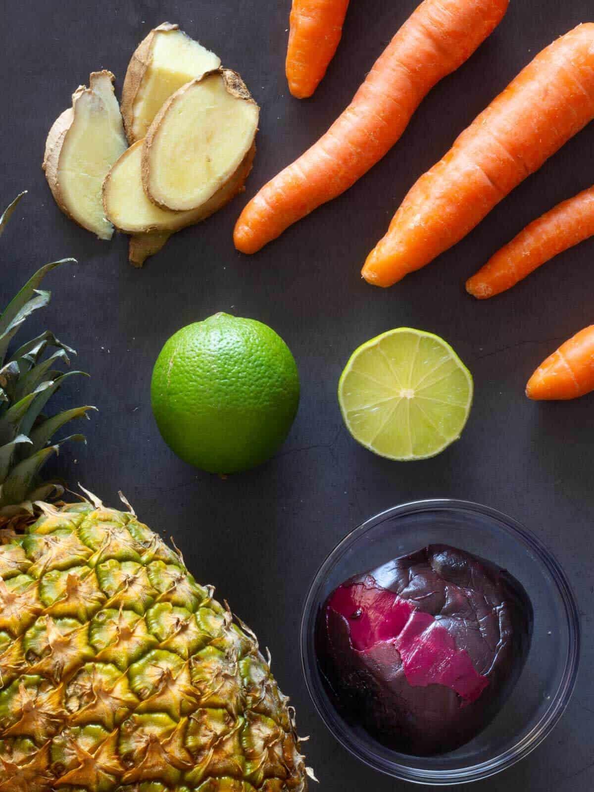 Beetroot Detox Juice ingredients
