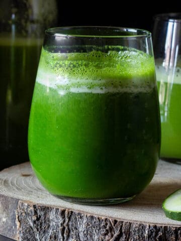 Weight Loss Juice glass