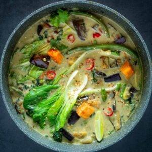 Green Thai Curry Pot