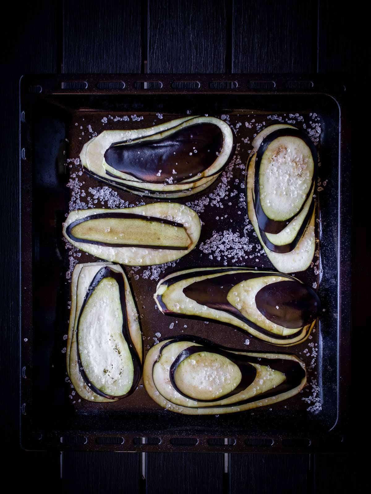Mom's Pickled Eggplants