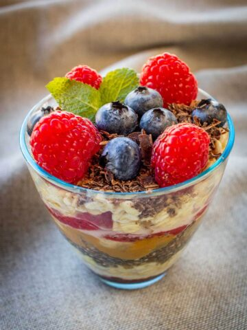 Oats and Chia Pudding