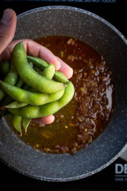 Add Edamame to Seasonings Mix