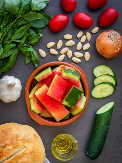 Watermelon Rind Soup Ingredients