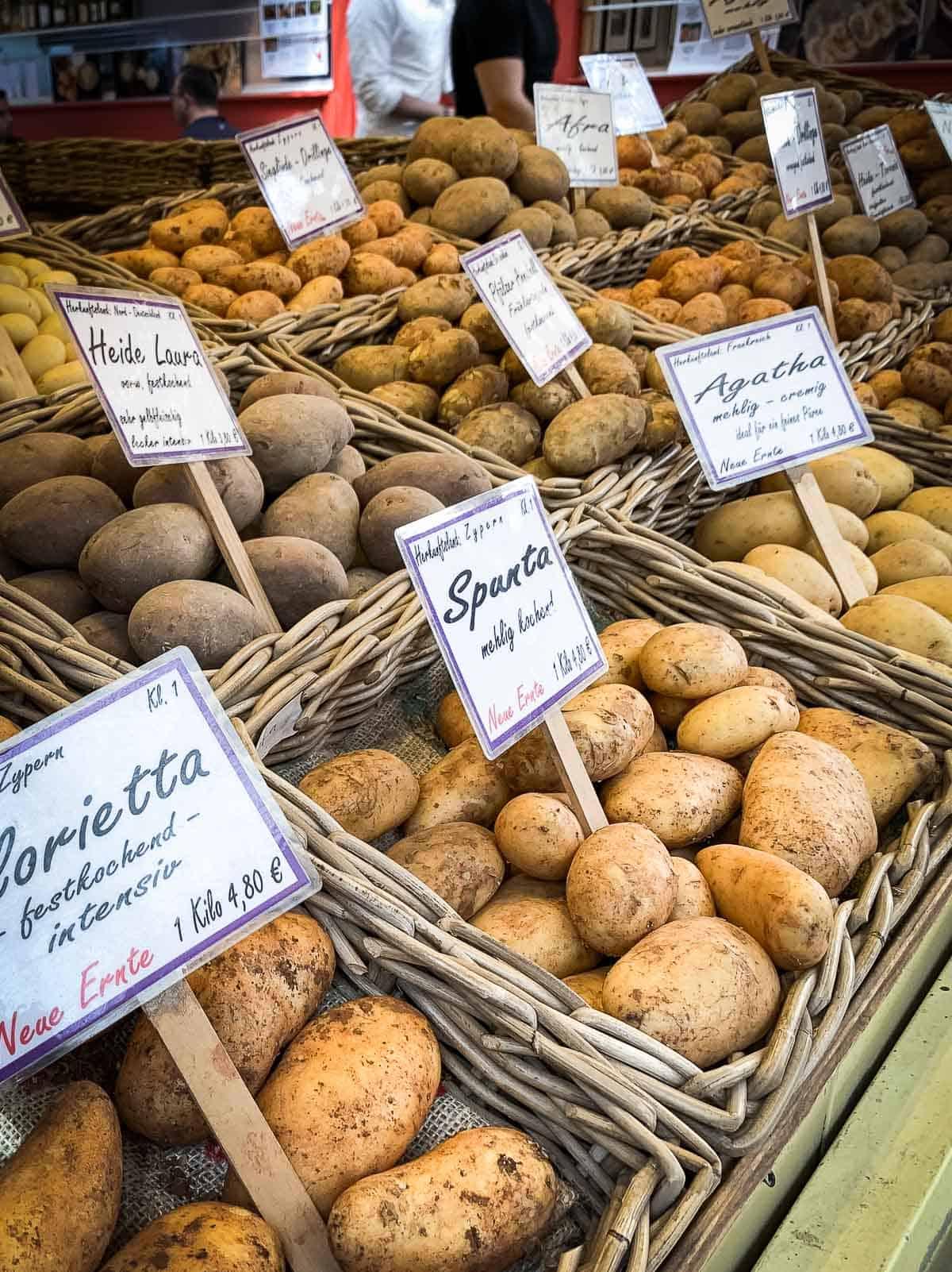 Potatoes Farmers Market