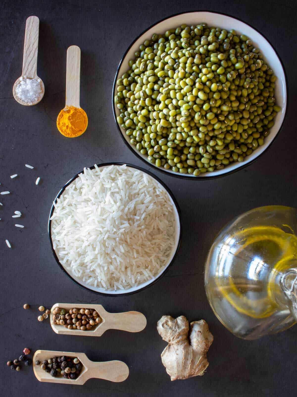 kitchari recipe ingredients