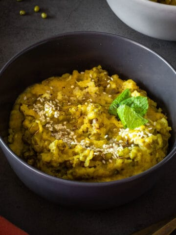kitchari recipe bowl
