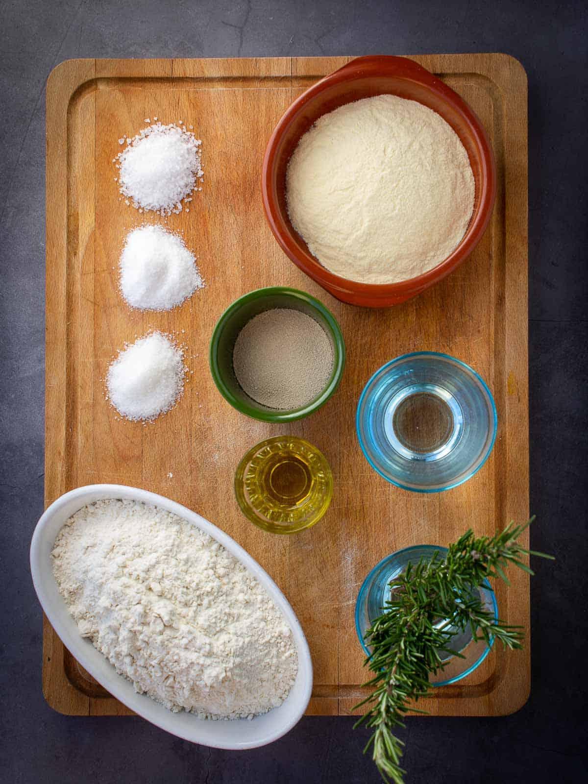 focaccia ingredients
