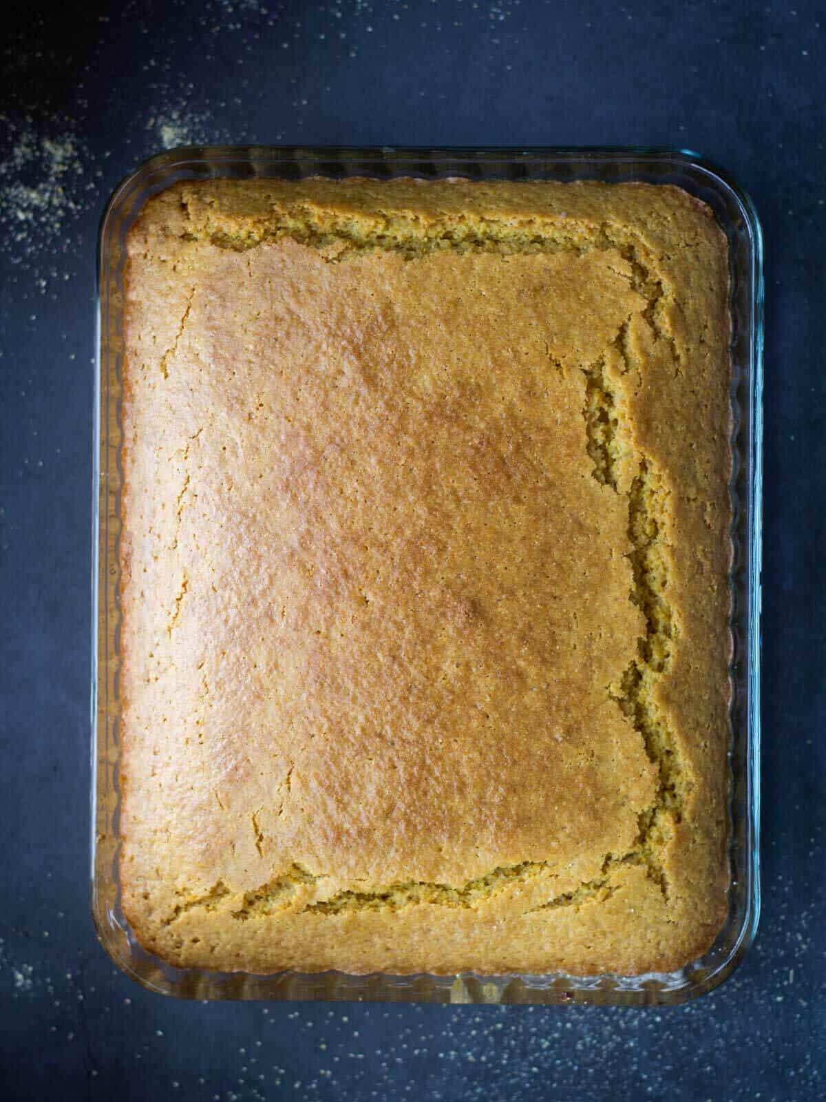 Vegan Buttermilk Gluten-Free Cornbread