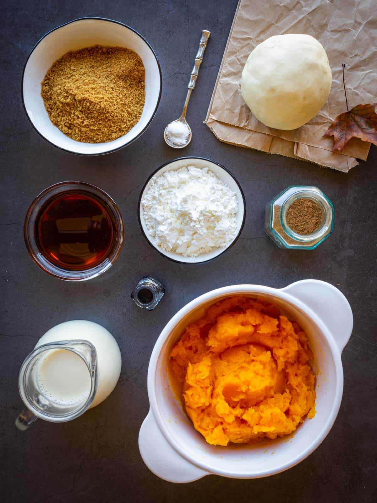 pumpkin pie recipe ingredients