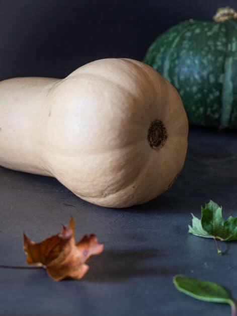 butternut squash and pumpkin
