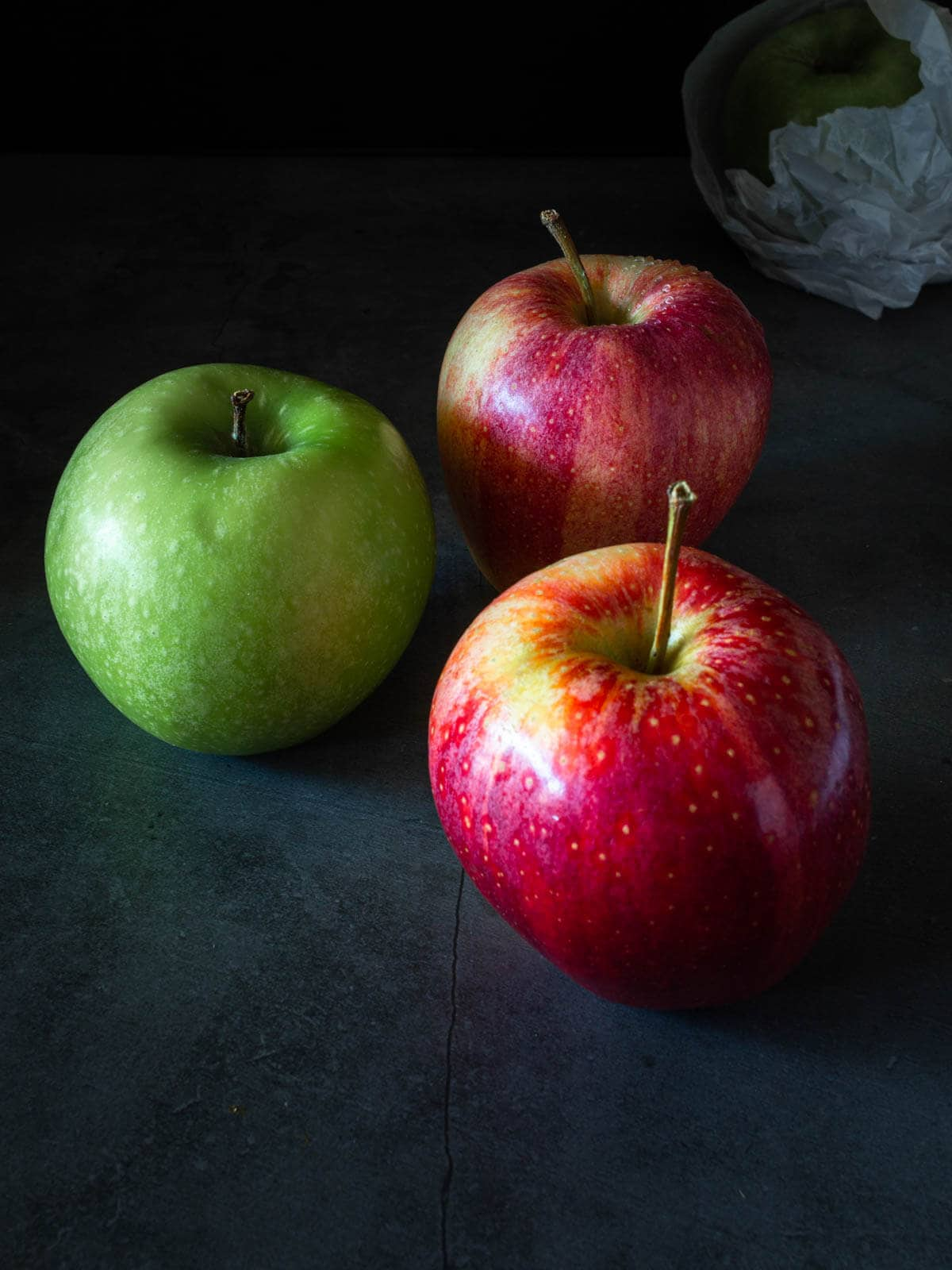 Unsweetened applesauce green and gala apples