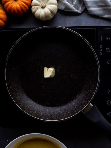 melting vegan butter