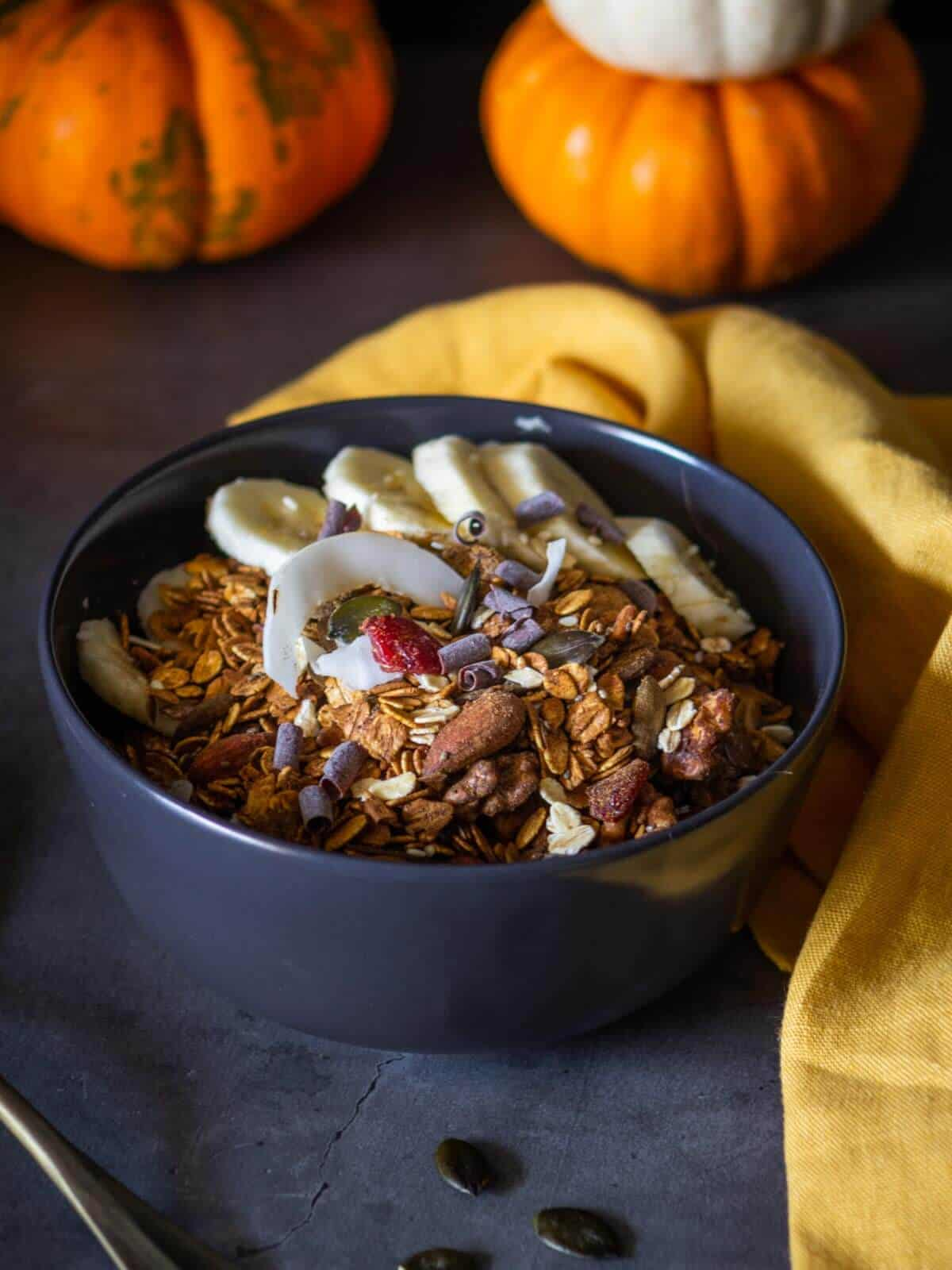served Pumpkin Maple Granola Recipe