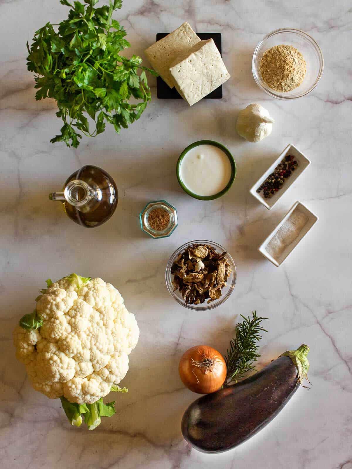 Eggplants Involtini Ingredients