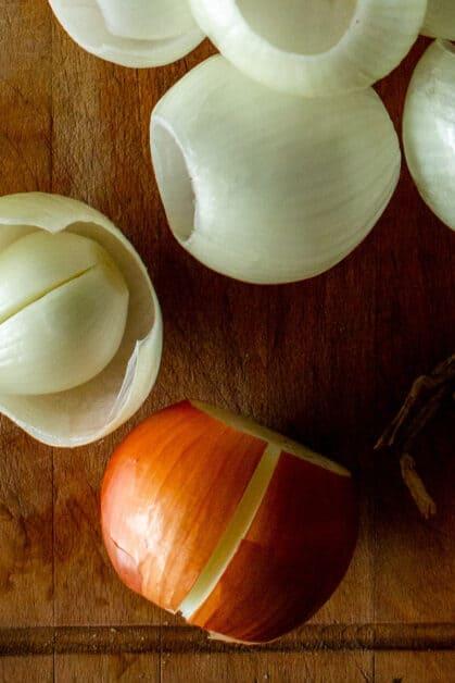 Stuffed Onions Steps