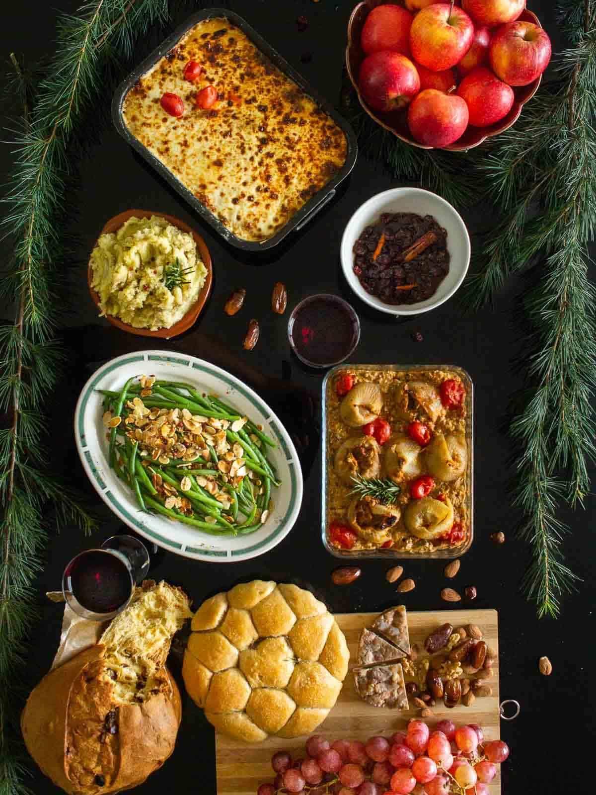 Vegan Christmas Menu 2020