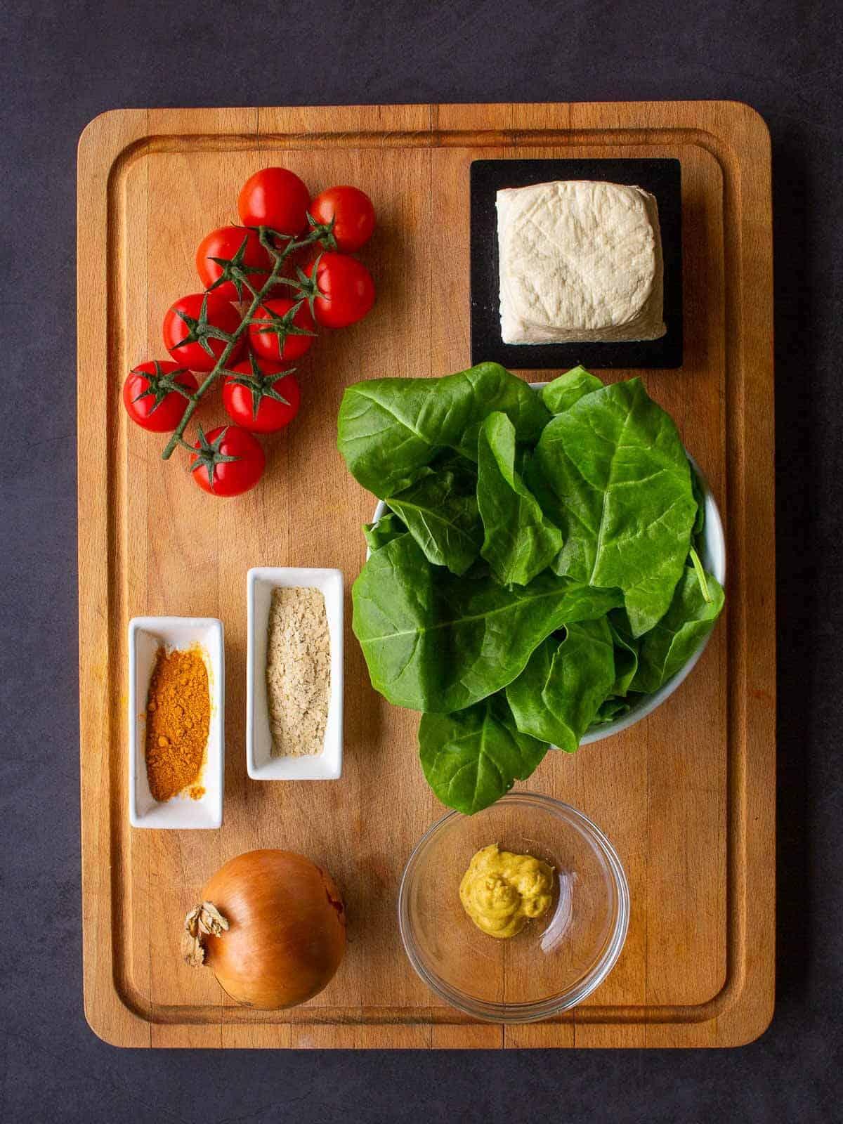 Tofu Scramble Recipe Ingredients