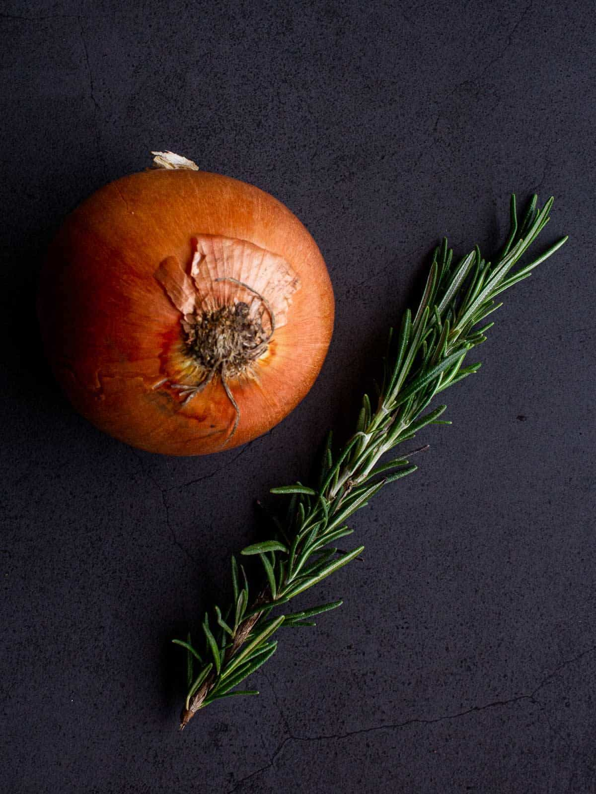 Onion and Rosemary
