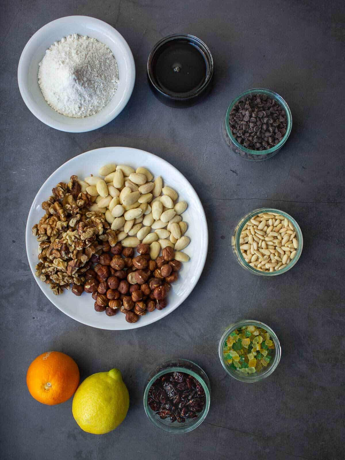 pangiallo romano ingredients