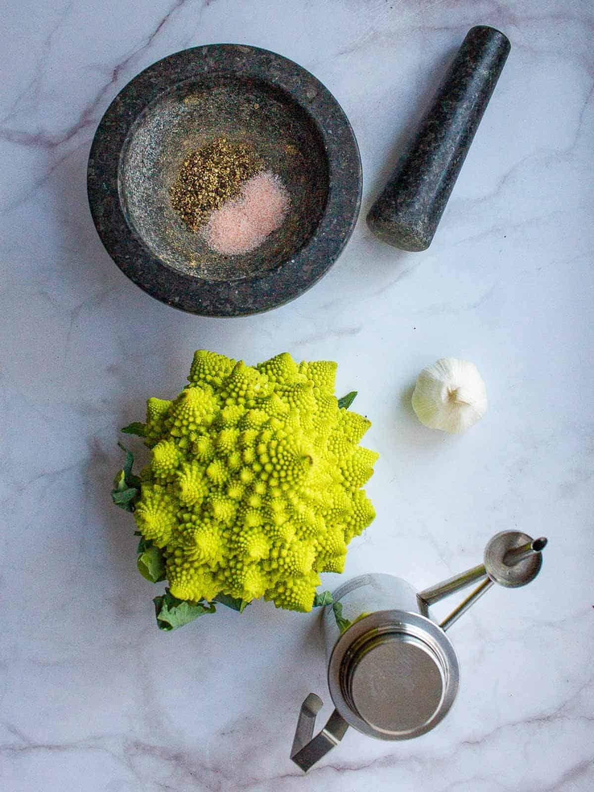 Broccoli Romanesco Ingredients
