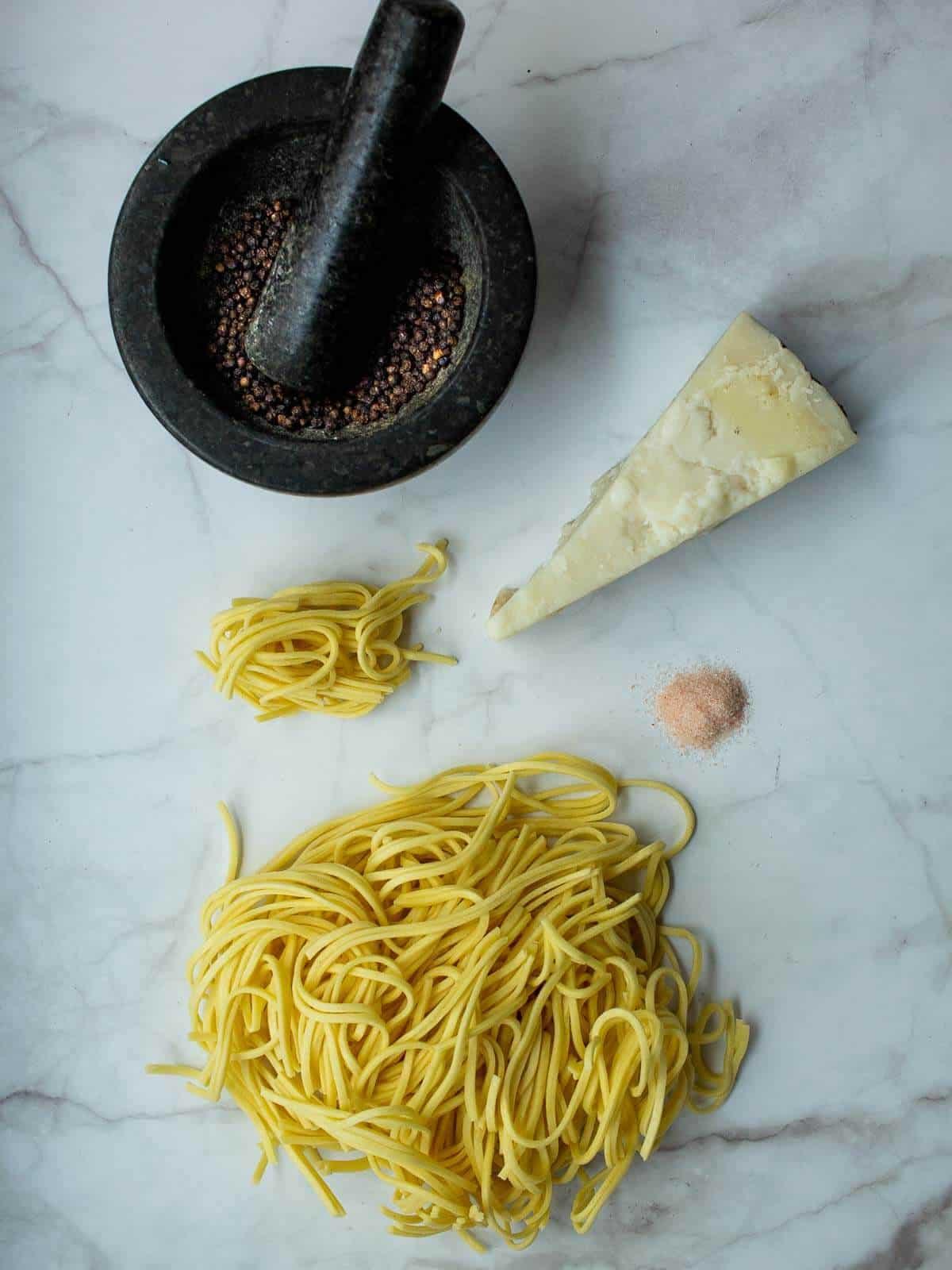 Cacio e Pepe Spaghetti