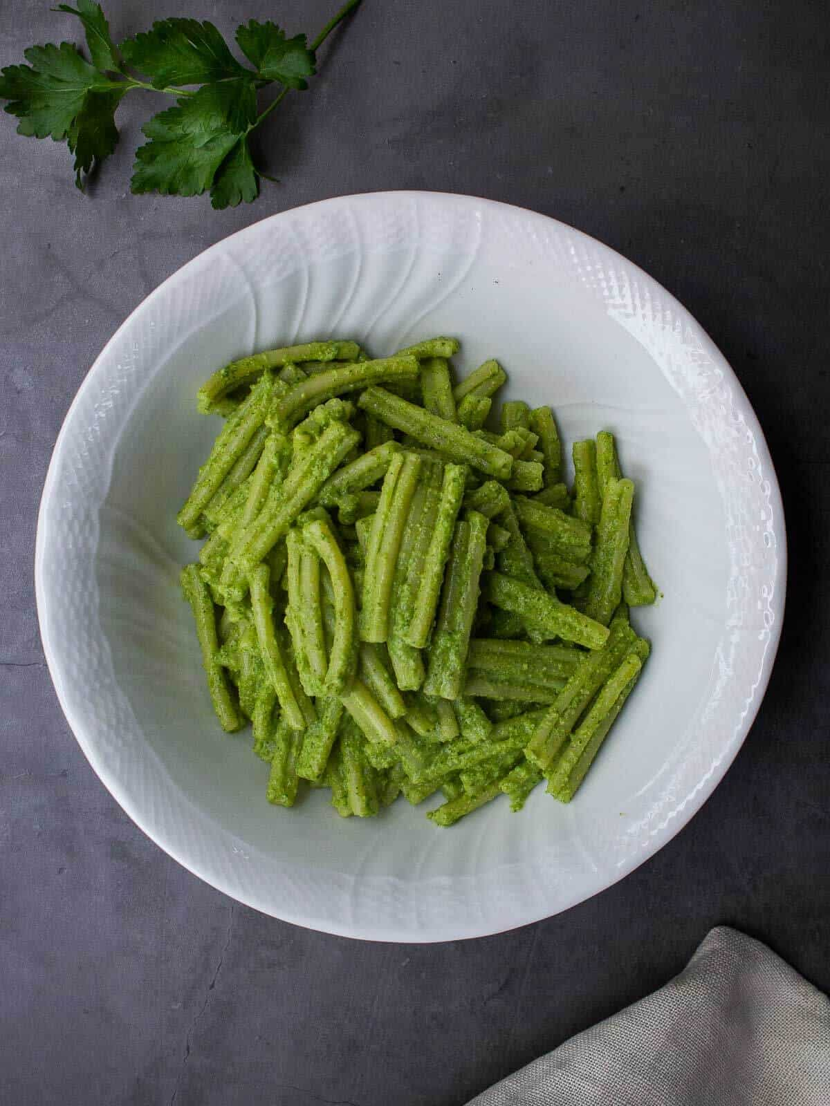 Pasta with Creamy Vegan Sauce
