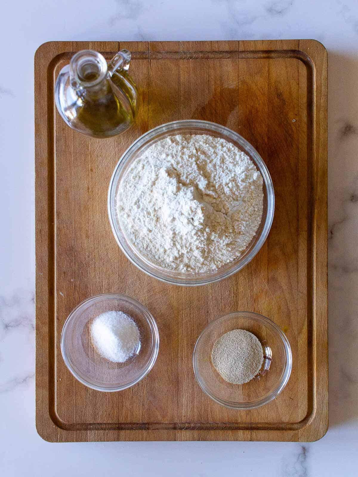 Pagnotta Bread Loaf Ingredients