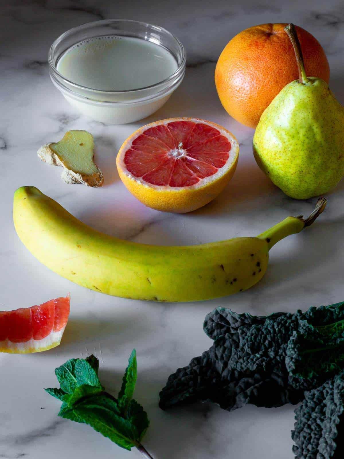 grapefruit smoothie ingredients