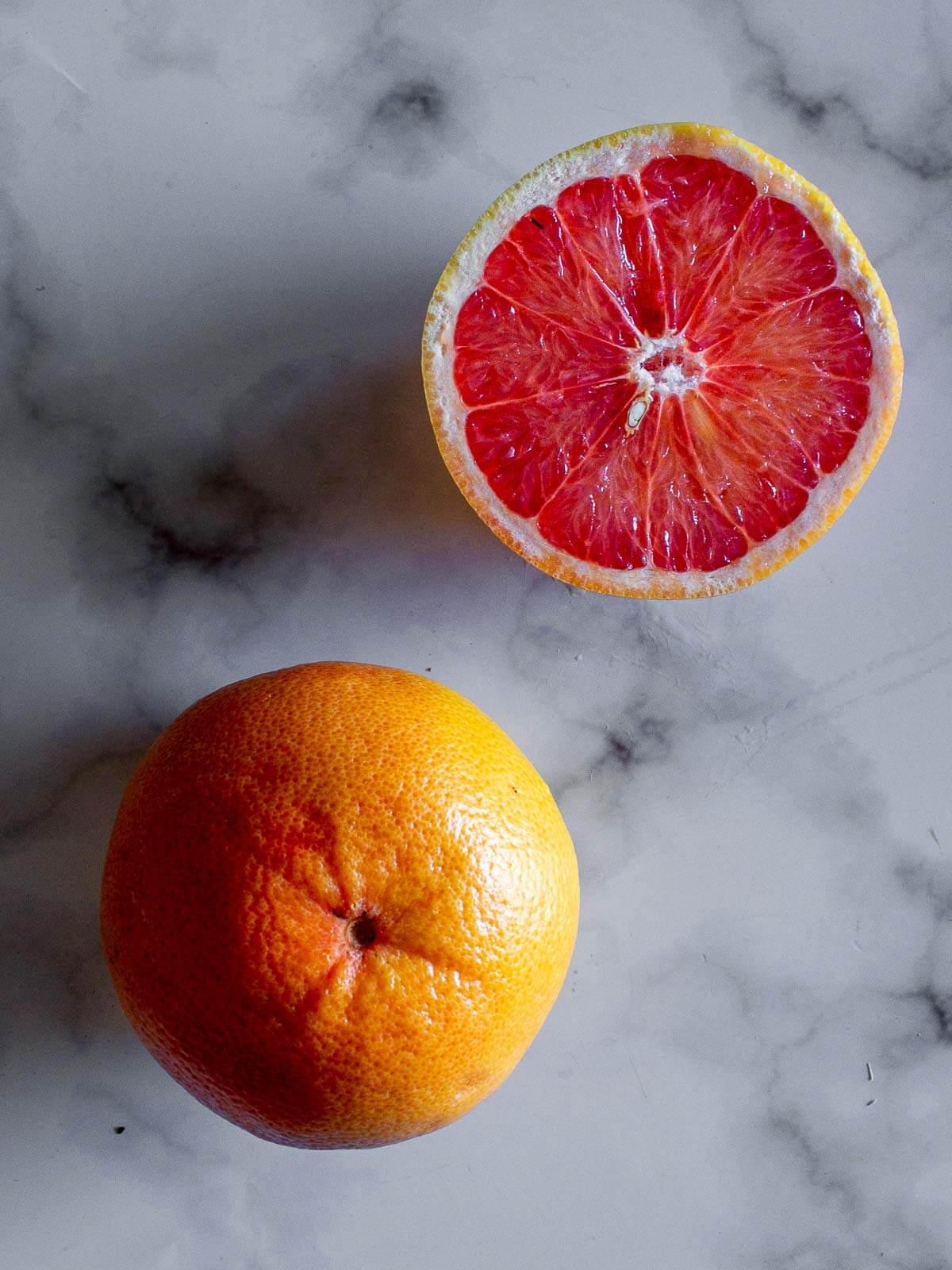Cut Grapefruit