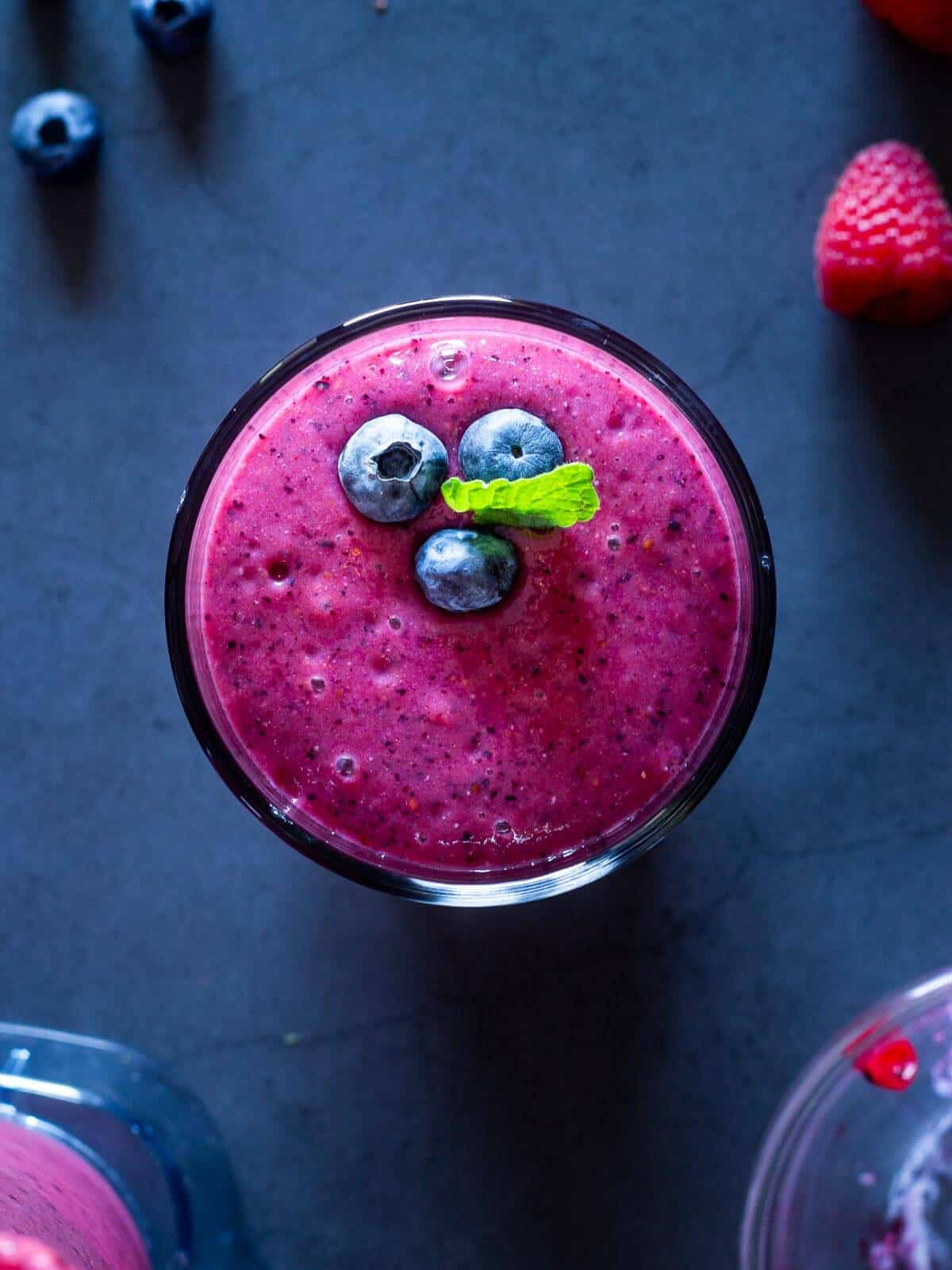 Frozen Mixed Berry Smoothie