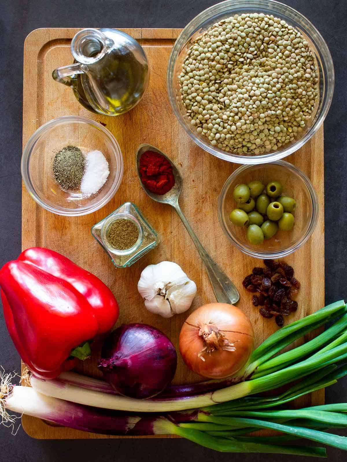 Vegan Empanadas Ingredients