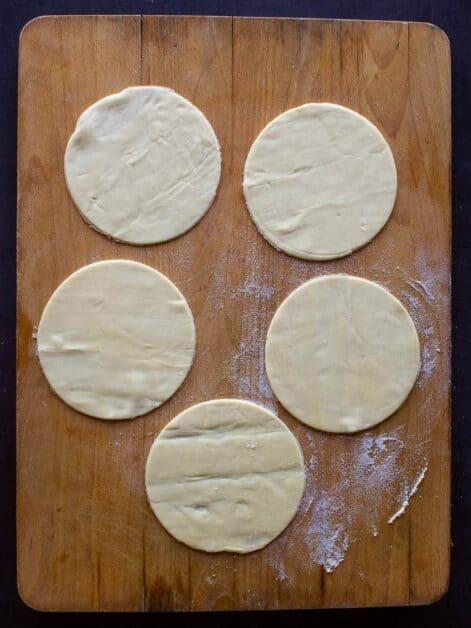 Vegan Empanadas Dough Discs