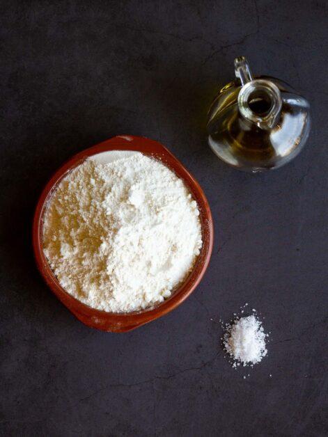 Vegan Empanadas Dough Ingredients