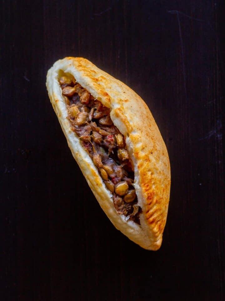 Open Vegan Empanada