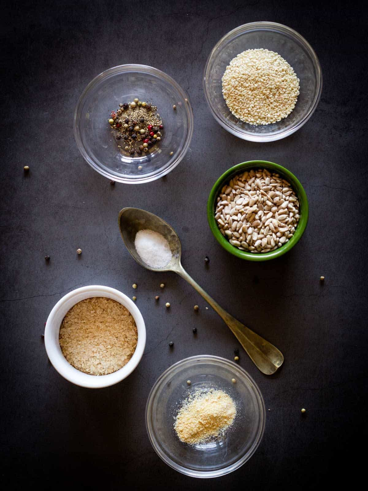 Vegan Parmesan Cheese Ingredients