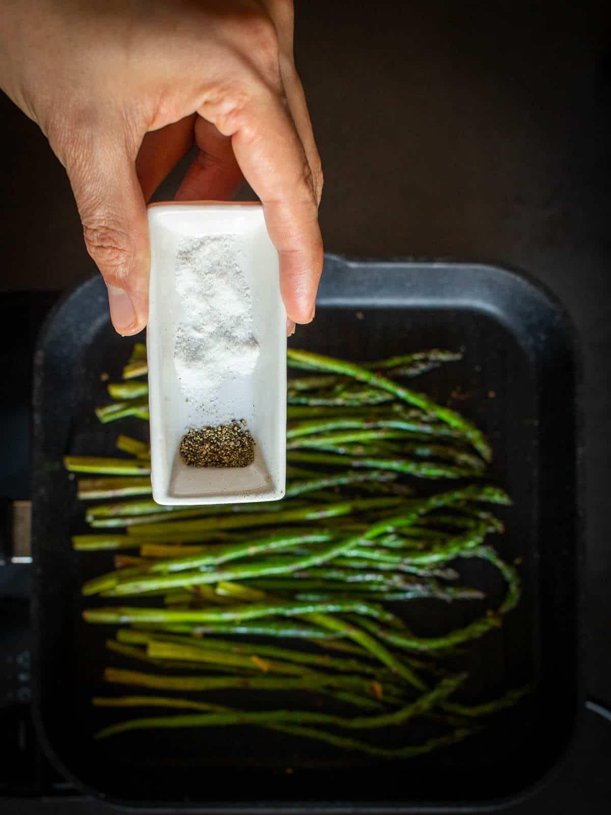 Asparagus Salt Pepper