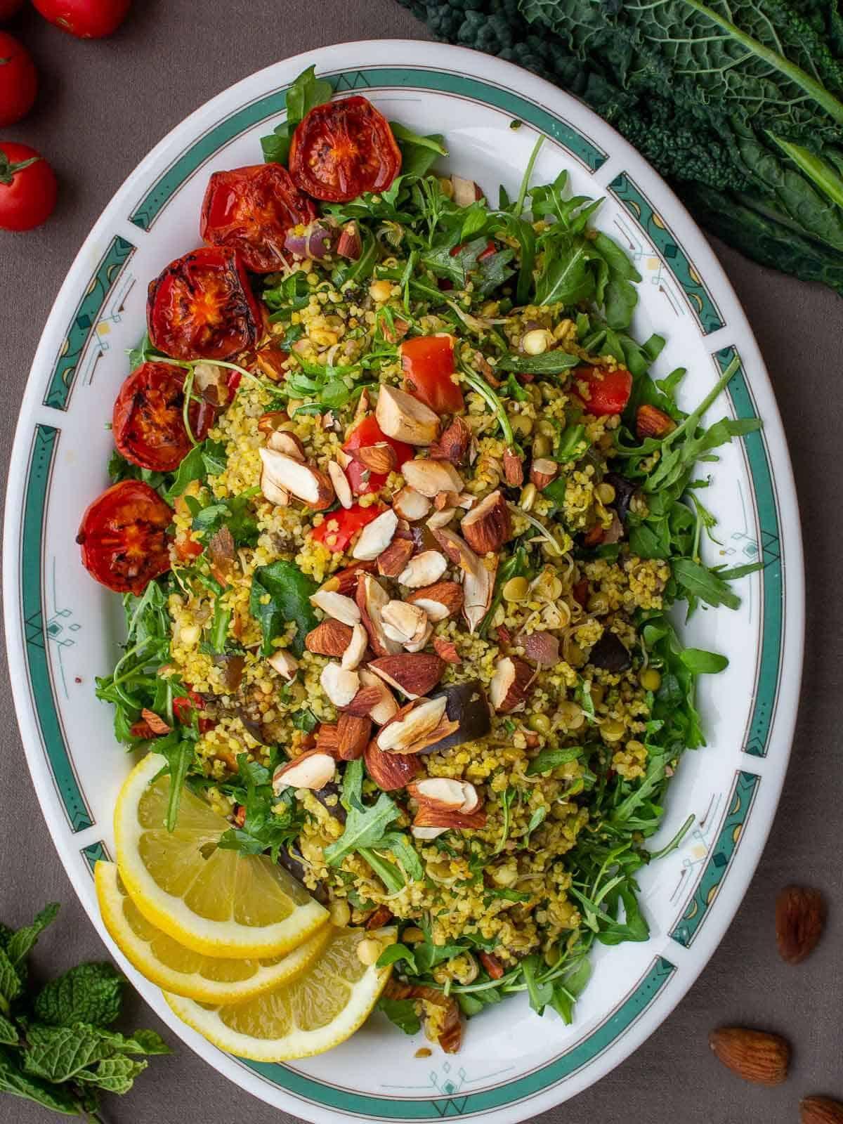 couscous warm salad