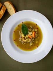 spicy lentil soup featured