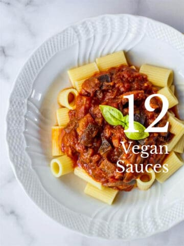 12 Simple and Delicious Vegan Sauces