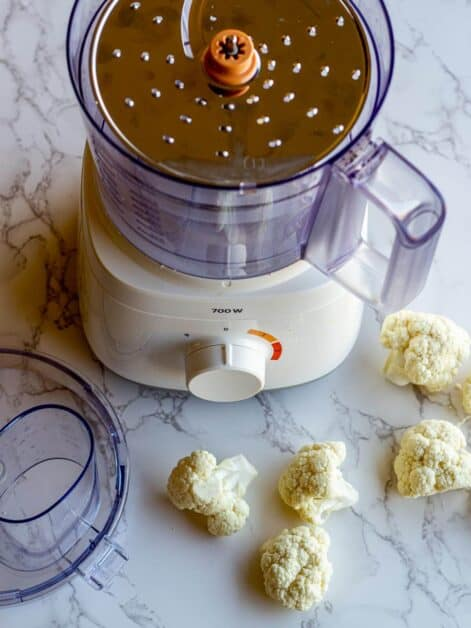 Food Processor Cauli Rice